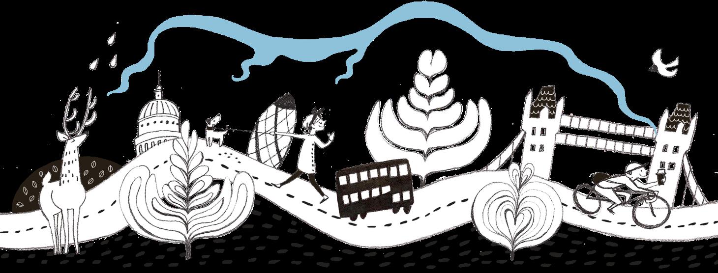 local hero mural –illustrated by nozomi inoue